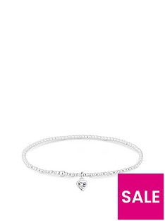 simply-silver-heart-stretch-bracelet