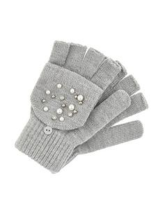 accessorize-pearl-sparkle-capped-glove-grey