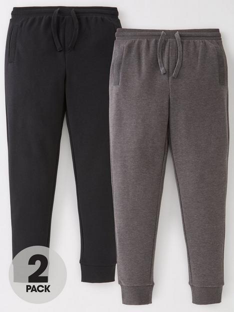 v-by-very-boys-essential-2-pack-skinny-joggers-blackcharcoal