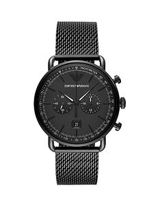 emporio-armani-emporio-armani-black-chronograph-dial-black-ip-stainless-steel-mesh-strap-mens-watch