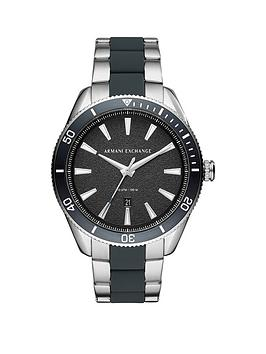 armani-exchange-armani-exchange-black-and-silver-detail-date-dial-two-tone-stainless-steel-and-silicone-inlay-bracelet-mens-watch