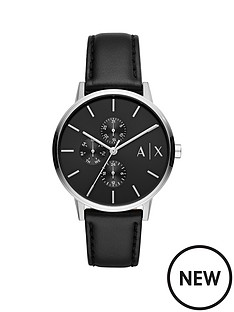 armani-exchange-armani-exchange-black-and-silver-detail-multi-dial-black-leather-strap-mens-watch