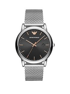 emporio-armani-emporio-armani-black-sunray-and-rose-gold-detail-dial-stainless-steel-mesh-strap-mens-watch