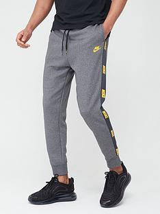 nike-hybrid-nylon-taped-pants-grey