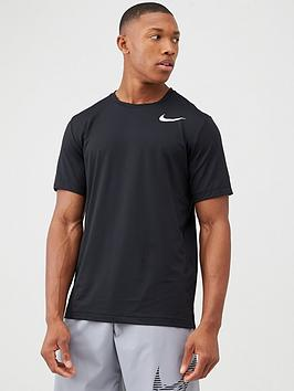 nike-short-sleeve-hyper-dry-training-top-black