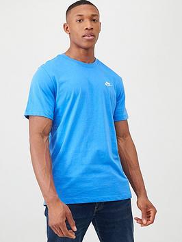 nike-club-t-shirt-blue
