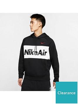nike-air-overhead-fleece-hoodie-blackwhitered