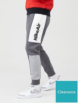 nike-sportwear-air-fleece-pants-charcoal