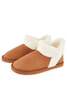 accessorize-suedette-boot-slipper-tan