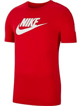 nike-short-sleeve-hybrid-t-shirt-rednbsp