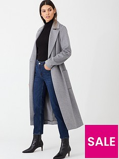 ted-baker-joseete-belted-long-coat-light-grey