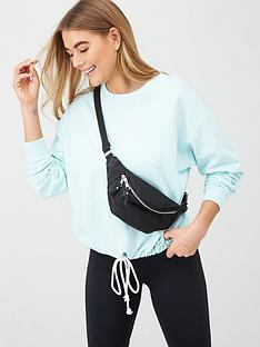 v-by-very-corded-hem-sweat-top-aqua