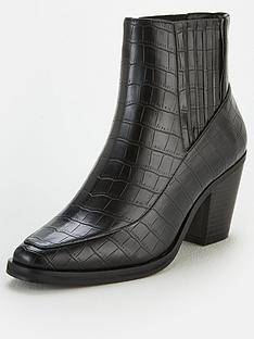 v-by-very-fae-croc-ankle-boots-black