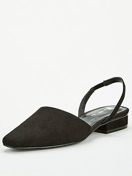 v-by-very-michelle-two-part-toe-ballerina-shoes-black
