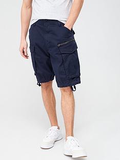 g-star-raw-rovic-zip-cargo-shorts-blue