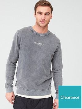 very-man-leave-no-trace-acid-wash-sweater-grey