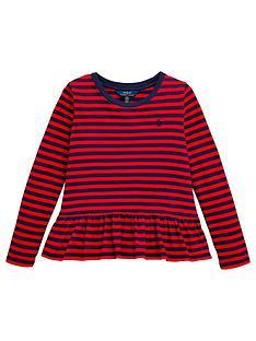 ralph-lauren-girls-long-sleeve-stripe-peplum-t-shirt-red