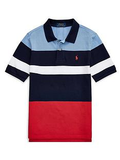 ralph-lauren-boys-short-sleeve-colour-block-polo-shirt-navy