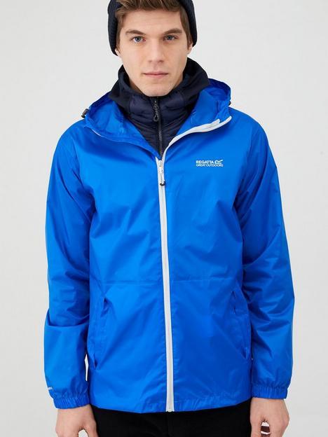 regatta-pack-away-jacket-blue