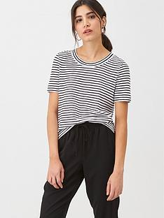 whistles-rosa-double-trim-stripe-t-shirt-blackwhite