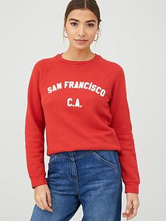 whistles-san-francisco-logo-sweatshirt-red