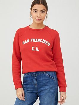 whistles-san-francisco-logo-sweatshirt-red