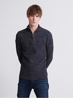 superdry-keystone-henley-knit-jumper-grey