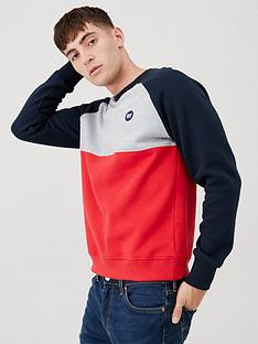 superdry-collective-colour-block-crew-sweatshirt-grey-marlrednavy
