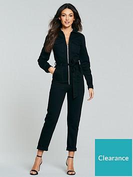 michelle-keegan-zip-front-boiler-jumpsuit