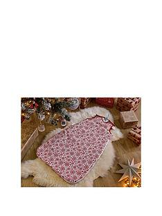 clair-de-lune-winter-snowflake-sleeping-bag
