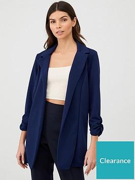 v-by-very-longline-jersey-crepe-blazer-navy