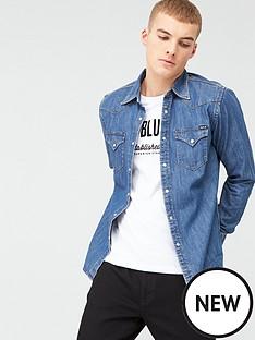 replay-denim-shirt-mid-blue