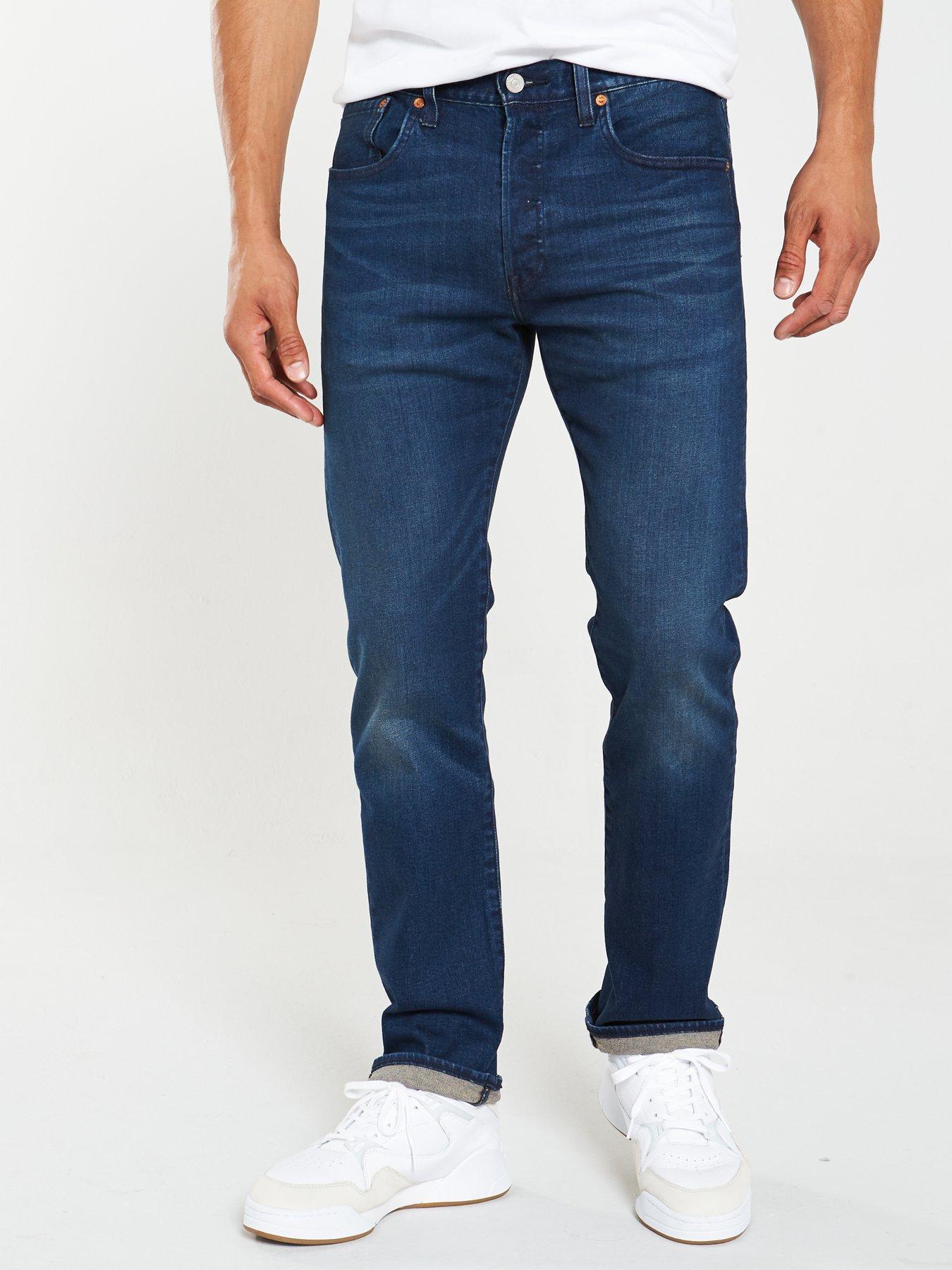 883 Police Mens Regular Fit New Straight Vintage Designer Stretch Denim Jeans