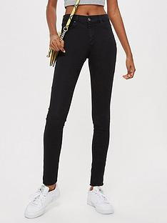 topshop-petite-leigh-jeans-black