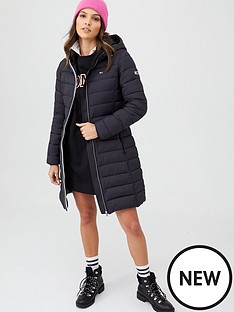 tommy-jeans-quilted-hooded-coat-black