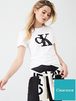 calvin-klein-jeans-monogram-slim-fit-t-shirt-white