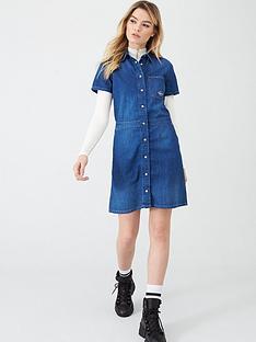 calvin-klein-jeans-short-sleeve-desert-diner-dress-mid-blue