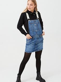 calvin-klein-jeans-dungaree-dress-denim