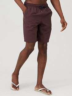 very-man-basic-longer-length-swimshorts-fudge
