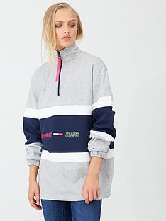 tommy-jeans-colour-block-mock-neck-sweat-grey