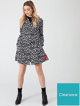 calvin-klein-jeans-animal-print-diner-dress-leopard