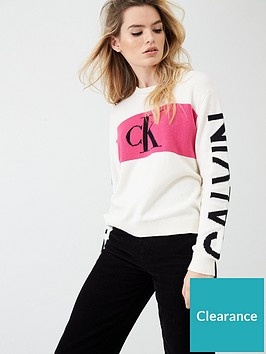 calvin-klein-jeans-statement-logo-jumper-white