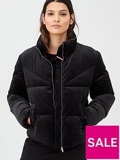 tommy-jeans-velvet-padded-jacket-black