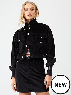 tommy-jeans-cropped-trucker-jacket-black