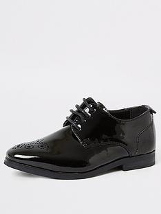 river-island-mini-mini-boys-patent-pointed-toe-shoes-black