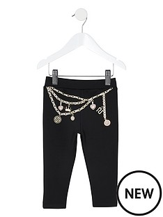 river-island-mini-mini-girls-chain-print-legging--multi