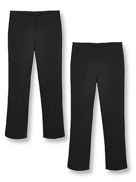 v-by-very-girls-2-pack-woven-school-trouser-plus-black