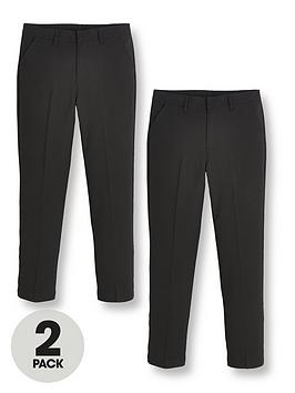 v-by-very-boys-2-packnbspskinny-fit-school-trousers-black