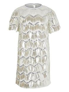 river-island-girls-sequin-t-shirtnbspdressnbsp--silver