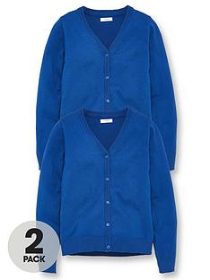v-by-very-girls-2-pack-school-cardigans-royal